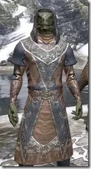 Telvanni Wizard-Lord Robe - Argonian Male Close Front