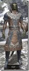 Telvanni Wizard-Lord Robe - Argonian Male Front