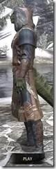 Telvanni Wizard-Lord Robe - Argonian Male Side