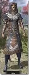 Telvanni Wizard-Lord Robe - Khajiit Female Front