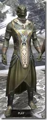 Treethane Ceremonial Dress - Argonian Male Front