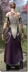 Treethane Ceremonial Dress Dyed Rear