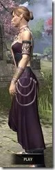 Treethane Ceremonial Dress Dyed Side