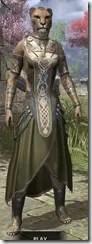 Treethane Ceremonial Dress - Khajiit Female Front