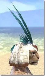 Bonding Rite Headdress Khajiit Female Right