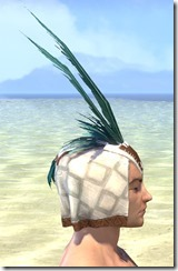 Bonding Rite Headdress Male Right
