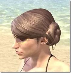 Bright-Throat Yolk Face Tattoo Female Side