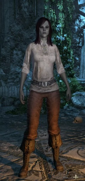 Dark Elf Female Tall