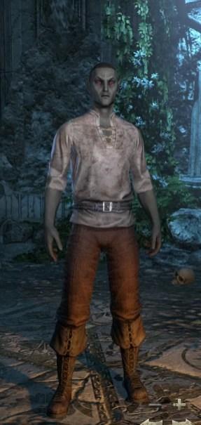 Dark Elf Male Short