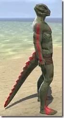 Dead-Water Blood Body Tattoos Argonian Male Right