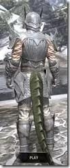 Ebonshadow Iron - Argonian Male Rear