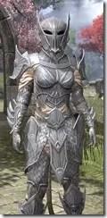 Ebonshadow Iron - Khajiit Female Close Front
