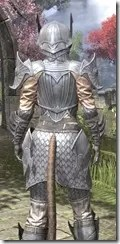 Ebonshadow Iron - Khajiit Female Close Rear