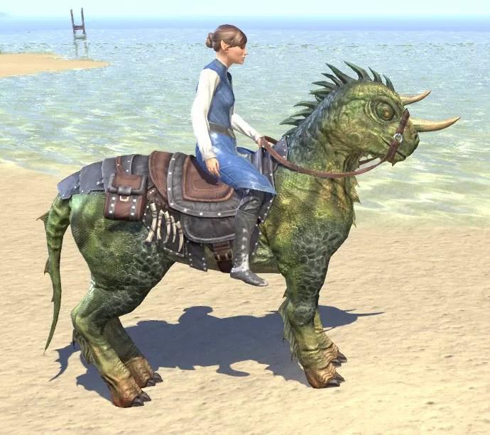Horse-Lizard Steed