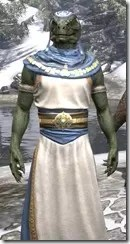 Priestess of Mara Argonian Male Close Front