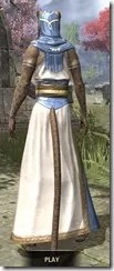 Priestess of Mara Khajiit Female Rear