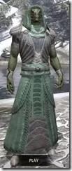 Pyandonean Homespun - Argonian Male Robe Front