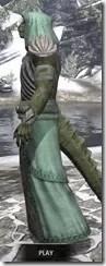 Pyandonean Homespun - Argonian Male Robe Side