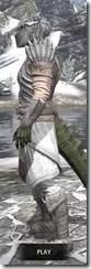 Pyandonean Iron - Argonian Male Side