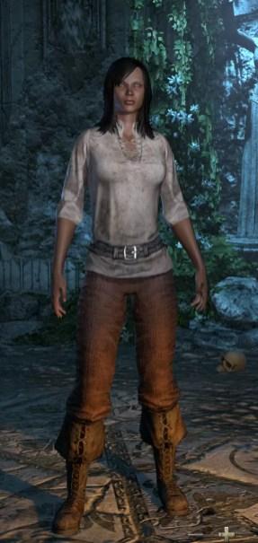 Redguard Female Tall
