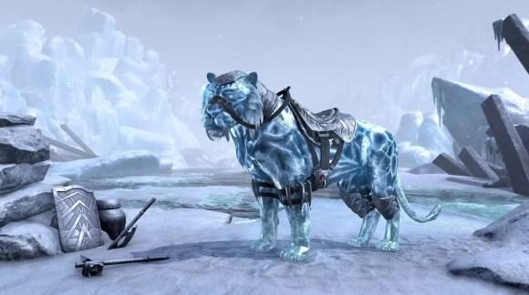 Sabre Cat Frost Atronach