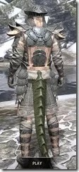 Telvanni Iron - Argonian Male Rear