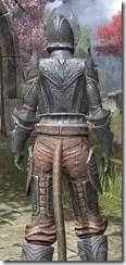 Aldmeri Dominion Iron - Khajiit Female Close Rear