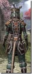 Argonian Dwarven - Khajiit Female Close Rear