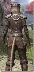 Argonian Iron - Khajiit Female Close Rear
