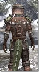 Argonian Steel - Argonian Male Close Rear
