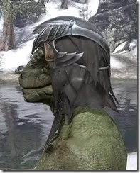 Ayleid Royal Crown - Argonian Male Side