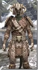 Barbaric Iron - Argonian Male Close Front