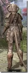 Barbaric Iron - Khajiit Female Rear