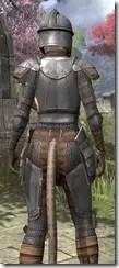 Breton Steel - Khajiit Female Close Rear