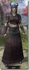 Coldsnap Light - Khajiit Female Robe Front
