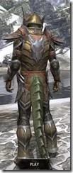 Dark Elf Dwarven - Argonian Male Rear