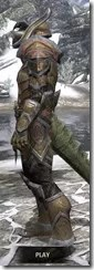 Dark Elf Dwarven - Argonian Male Side