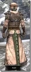 Dark Elf Homespun - Argonian Male Robe Rear