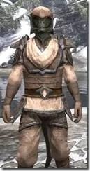 Dark Elf Homespun - Argonian Male Shirt Close Front