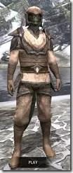 Dark Elf Homespun - Argonian Male Shirt Front
