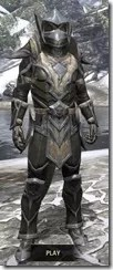 Dark Elf Orichalc - Argonian Male Front