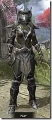 Dark Elf Orichalc - Khajiit Female Front