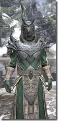 Ebonheart Pact Homespun - Argonian Male Robe Close Front