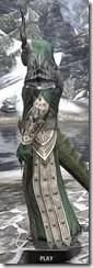 Ebonheart Pact Homespun - Argonian Male Robe Side