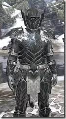 Ebony Iron - Argonian Male Close Front