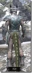Glass Iron - Argonian Male Rear