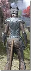 Glass Iron - Khajiit Female Close Rear