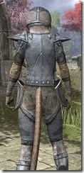High Elf Iron - Khajiit Female Close Rear