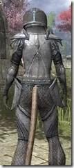 High Elf Steel - Khajiit Female Close Rear