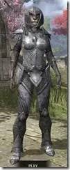 High Elf Steel - Khajiit Female Front